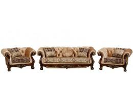 Комплект мягкой мебели Ассоль, орех (ткань орех)