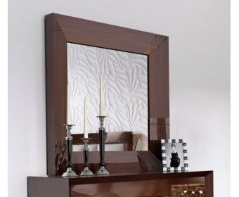 Зеркало Franco 1018, темный орех