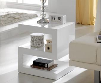 Журнальный стол-консоль Dupen 25-20 белый