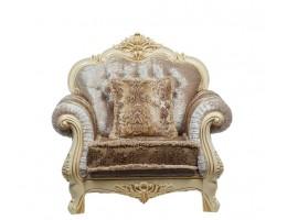 Кресло Илона, крем (ткань беж)