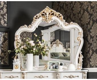Зеркало Флоренция, белое