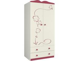 Шкаф для одежды Тедди Ш90-2Д1/Д0