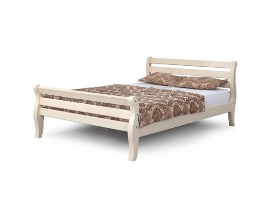 Кровать 1200 Ясень жемчужный Аврора