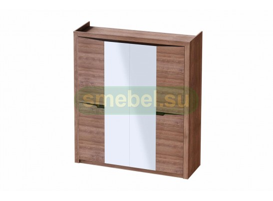 Комплект полок (3шт) для шкафа 4 дв Соренто