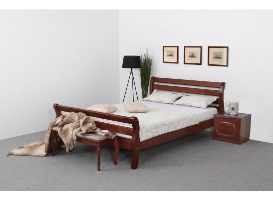 Кровать 1200 Орех светлый Аврора